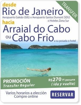 Transfer rio arraial do cabo cabo frio